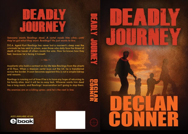 How To Make A Real Book Cover ~ Writing a thriller query back cover book blurb declan conner